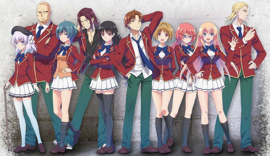 Classroom of the Elite: Anime – reviewitweb